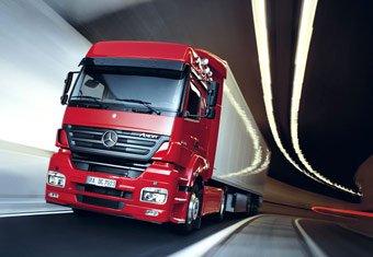 Продажа запчастей для грузовиков Mercedes-Benz
